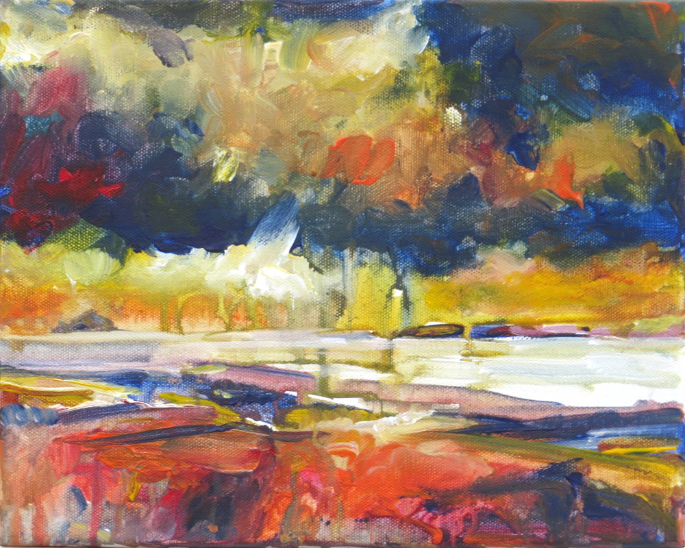 Breaking Light over the Coast painting by Paul Hoare