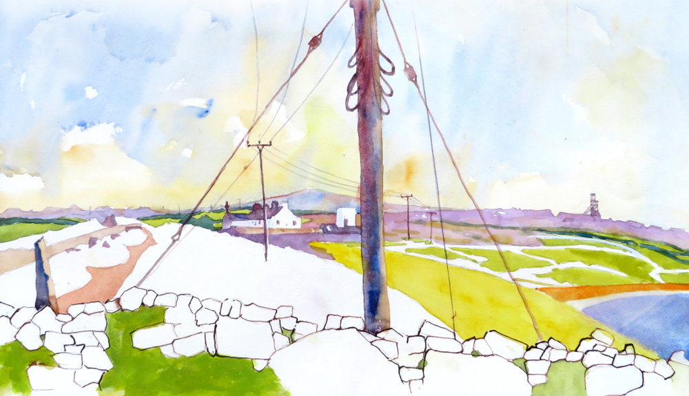 West Penwith painting by Paul Hoare