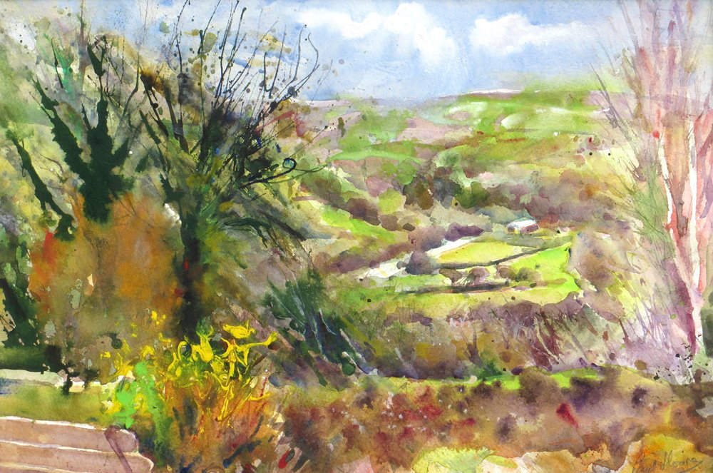 In the Valley painting by Paul Hoare