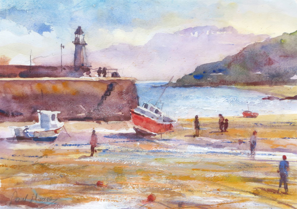 St Ives painting by Paul Hoare