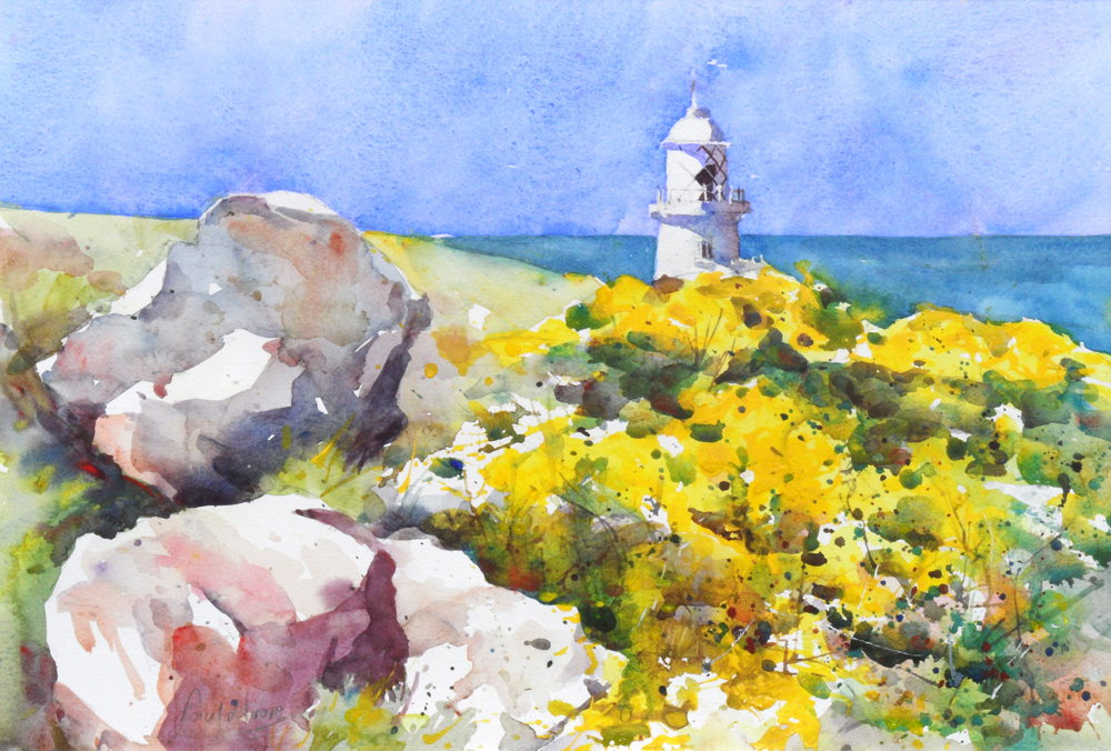 Pendent Lighthouse painting by Paul Hoare