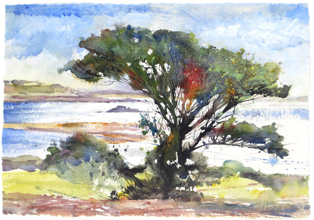 Bryher Tree (Sunday Times Exhibition), painting by Paul Hoar