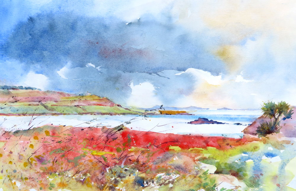 From Bryher painting by Paul Hoare