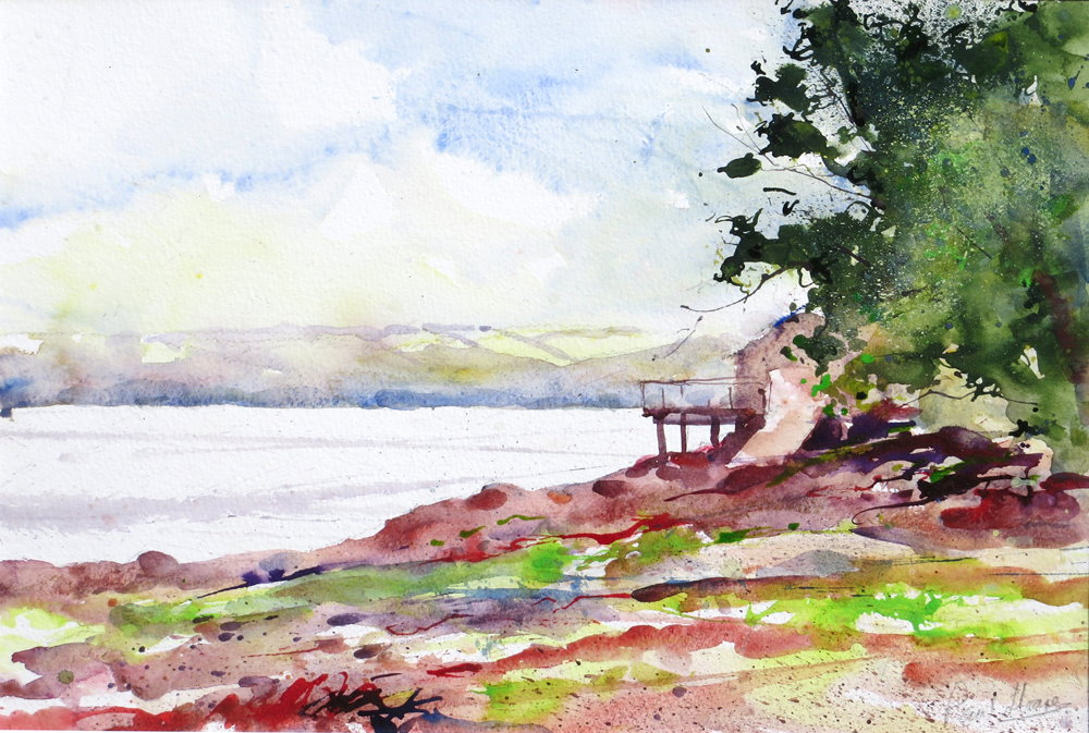 The Lookout at Weir painting by Paul Hoare